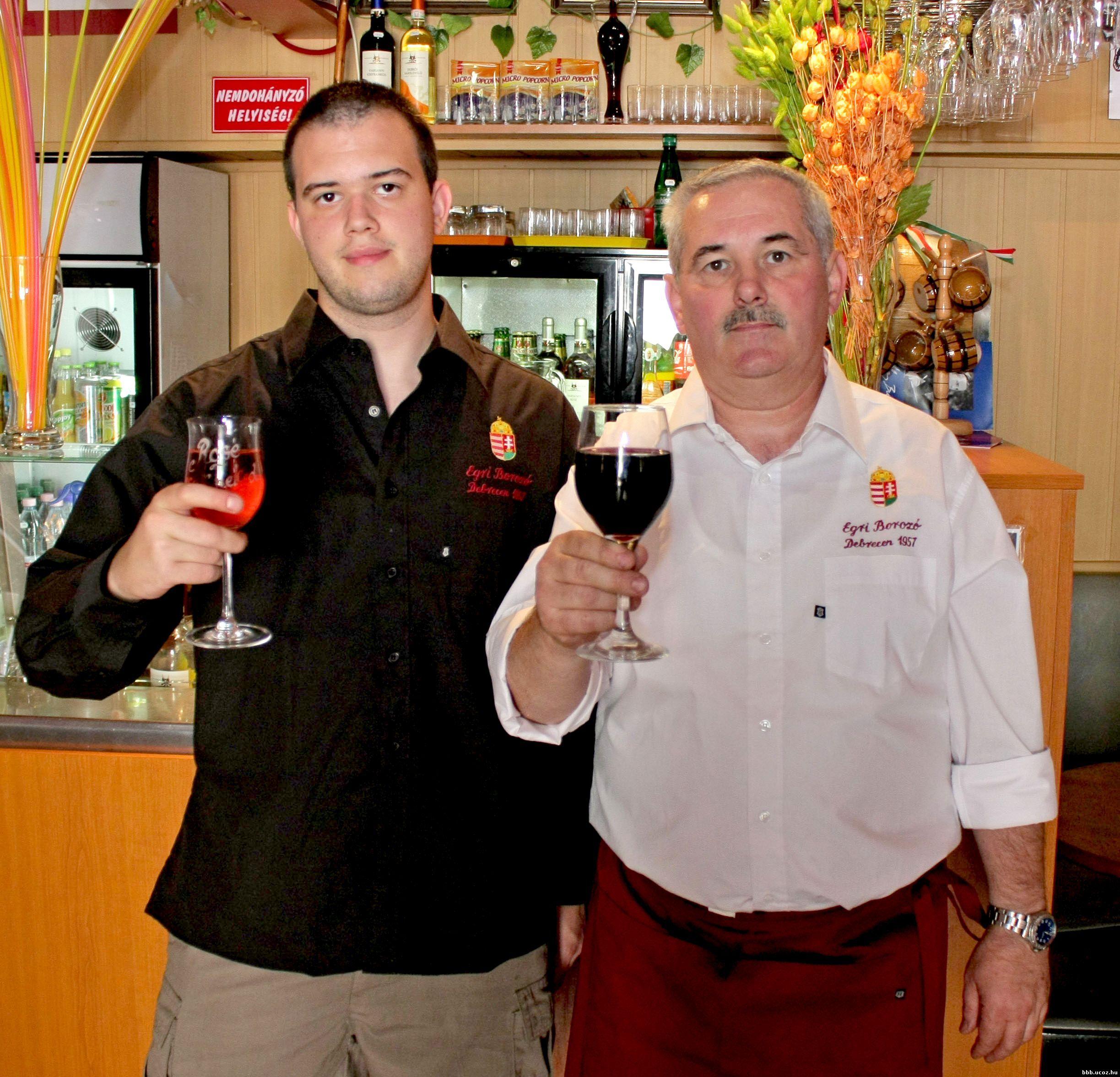 Egri Borozo, bar à vin de Budapest